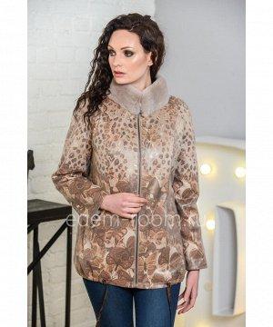 Куртка из экозамши для весны Артикул: N-1713-70-B-KR