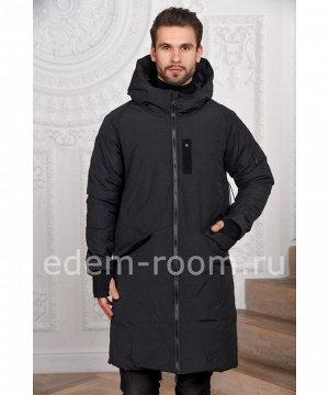 Мужской пуховик - пальто Boris Bidjan SaberiАртикул: M-5654-CH