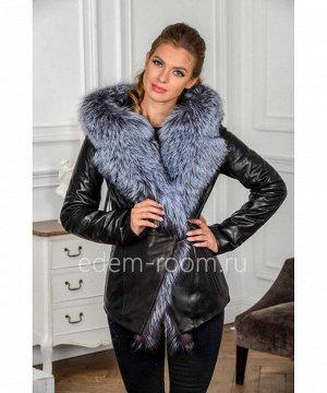 Осенне-весенняя куртка из кожиАртикул: H-132-70-2-CH