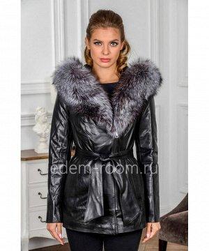 Демисезонная куртка из кожиАртикул: H-778-70-2-CH
