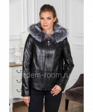 Демисезонная кожаная курткаАртикул: H-8801-60-2-CH