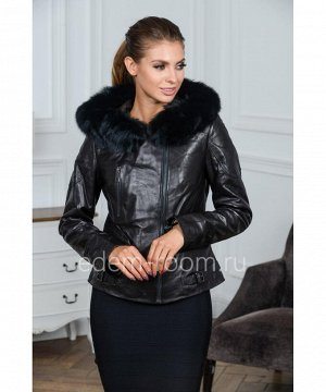 Демисезонная кожаная курткаАртикул: S-8815-60-2-P