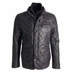 Кожаная мужская куртка р.54