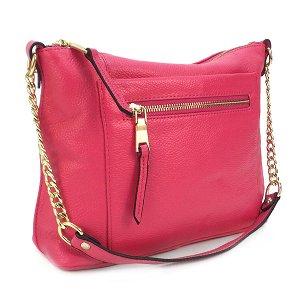 СКИДКА. Женская сумка Borgo Antico. Кожа. 5061 rose red