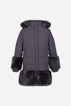 Пальто зимнее для девочки Crockid ВК 38035/2 ГР