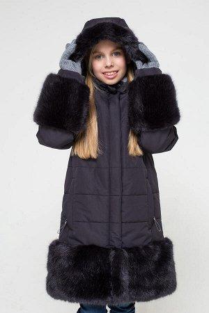 38035/2 пальто/графит