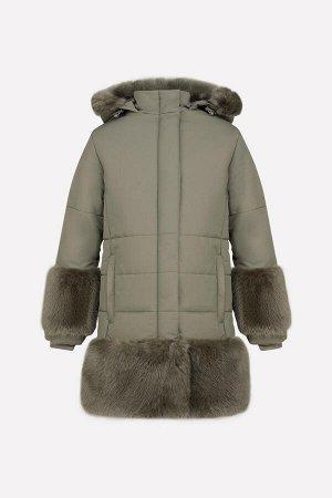 Пальто зимнее для девочки Crockid ВК 38035/3 ГР