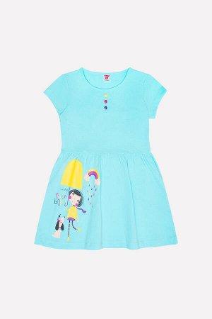 Платье для девочки Crockid К 5573 мятная конфета