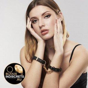 Bijoux Indiscrets MAZE THIN HANDCUFFS BLACK. Наручники черные