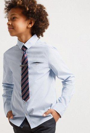 Сорочка верхняя детская для мальчиков Vlas голубой
