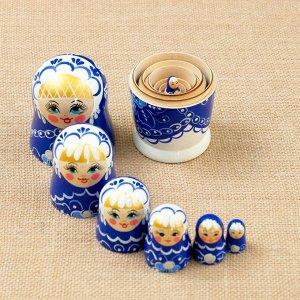 "Матрёшка ""Жемчужина"", 7 кукольная, 16х7 см"
