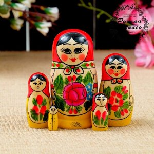 """Матрёшка """"Семёновская"""", 5 кукольная, 11х5 см"""
