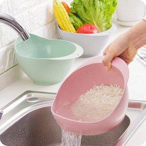 дуршлаг - Сито для мытья риса и фруктов большое