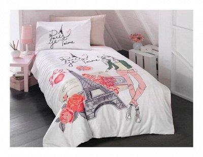 🌃 Акция на Матрацы! Сладкий сон! Подушки, Одеяла 💫 — Постельное белье Поплин.  150*200 — Полутороспальные