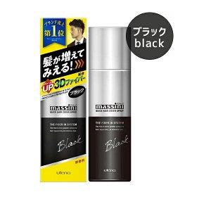Быстродейств оттеночный 3D-спрей для увелич толщ волоса, объема и тонирован (черный оттенок) 140 гр