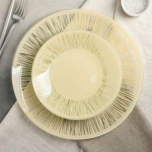 Сервиз столовый «Витас» на 6 персон: 6 тарелок d=20 см, 1 тарелка d=30 см
