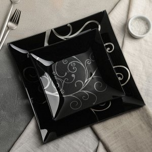 Сервиз столовый «Джейн» на 6 персон: 6 тарелок d=20 см, 1 тарелка d=30 см