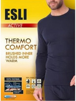 Фуфайка мужская ESLI MFТ 668 черный
