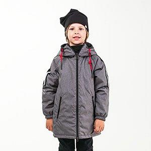 90022/1 (серый) Пальто для мальчика