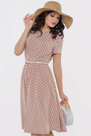 Платье Красотка, стильная с ремешком