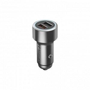 Автомобильная зарядка 70 Mai metal double car charger
