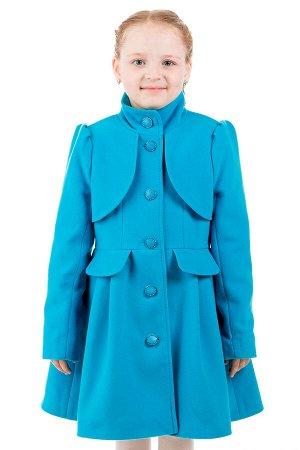 Пальто Материал: Кашемир РАЗМЕР: Рост 170,Рост 164 ЦВЕТ: Голубой
