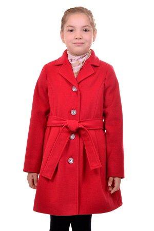 Пальто Материал: Кашемир РАЗМЕР: Рост 158,Рост 152,Рост 146,Рост 140,Рост 134,Рост 128 ЦВЕТ: Красный