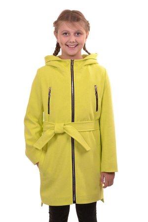 Пальто Цвет: Желтый; Материал: Кашемир