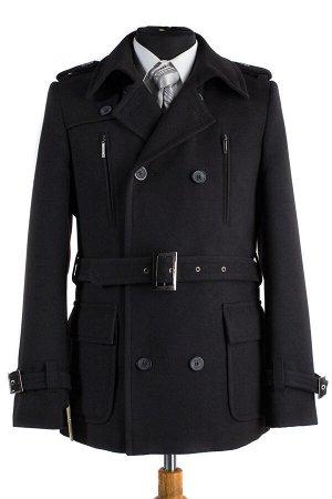 Пальто мужское демисезонное (Рост 176) пояс
