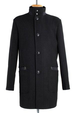 06-0121 Пальто мужское демисезонное (Рост 176) Кашемир черный