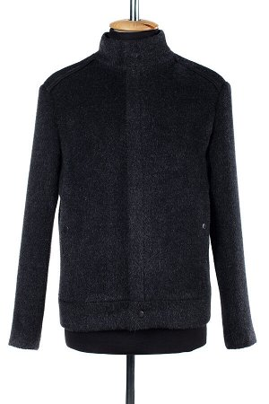 06-0178 Пальто мужское демисезонное (Рост 176) Ворса серый