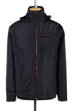 06-0180 Куртка мужская демисезонная (синтепон 100) Плащевка черный