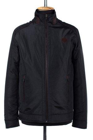 06-0185 Куртка мужская демисезонная (синтепон 100) Плащевка черный