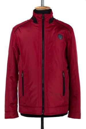 06-0187 Куртка мужская демисезонная (синтепон 100) Плащевка красный