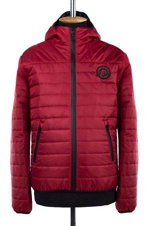 06-0195 Куртка мужская демисезонная (синтепон 100) Плащевка красный