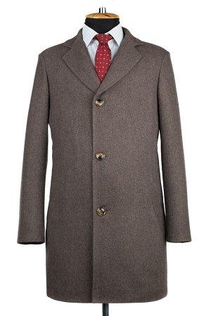 06-0314 Пальто мужские демисезонные (рост 176) Твид орех