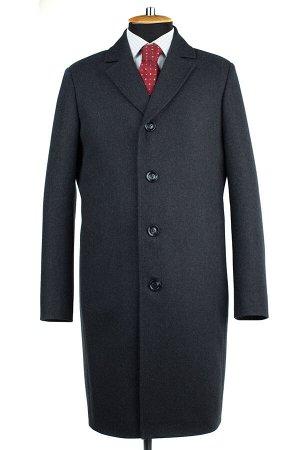 06-0325 Пальто мужские демисезонные (рост 176) сукно темно-серый