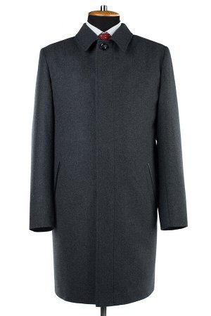 06-0330 Пальто мужские демисезонные сукно серый