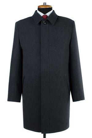 06-0333 Пальто мужское демисезонное (рост 176) сукно темно-серый