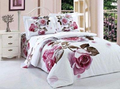 🌃Сладкий сон! Постельное белье,Подушки, Одеяла 💫 — Европейский стиль Поплин.  200*230 — Постельное белье