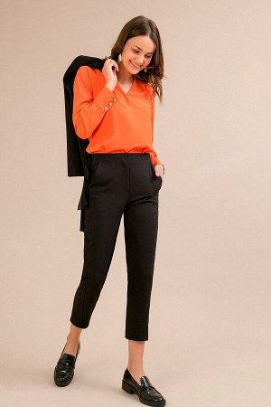 Укороченные брюки черного цвета. Скоро осень! 13 и 14 сентября  за 1000 рублей