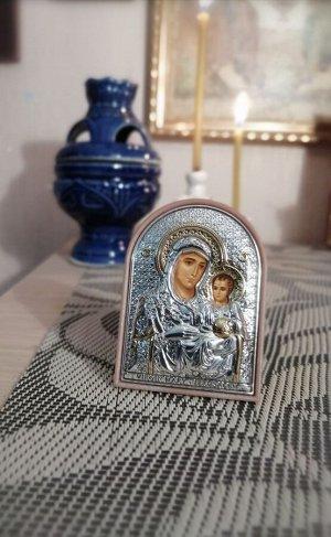 Икона Богородицы Иерусалимская / серебро