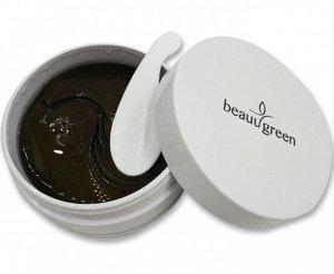 Патчи для глаз гидрогелевые Beauugreen Sea Cucumber&Black Hydrogel Eye Patch