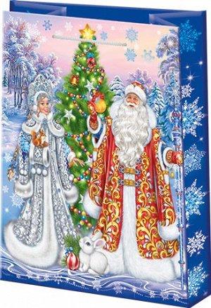 """Бумажные подарочные пакеты """"Новогодние"""""""
