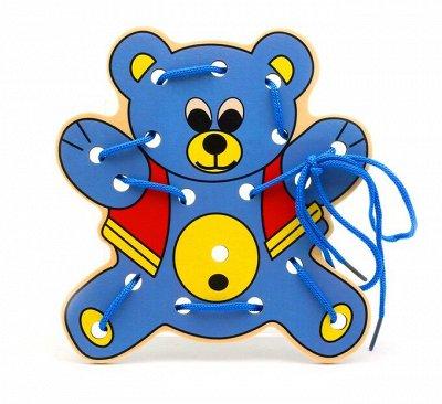 Мир развивающих игрушек Wood Toys™ — Шнуровки — Развивающие игрушки