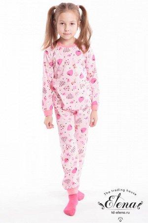 Пижама с брюками (х/б) Арт. 21421Д