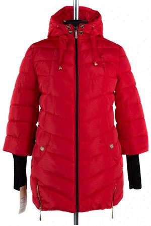 05-0829 Куртка зимняя (Синтепух 300) Плащевка красный