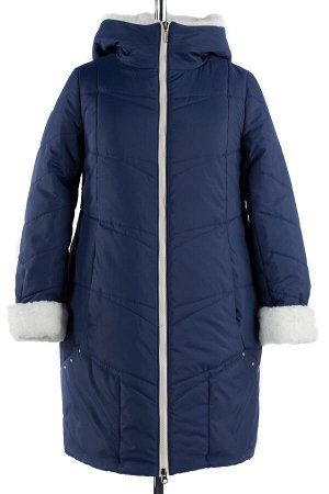 05-1346 Куртка зимняя (Синтепон 300) Плащевка темно-синий