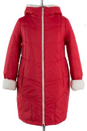 05-1334 Куртка зимняя (Синтепон 300) Плащевка красный