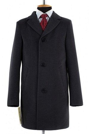 06-0126 Пальто мужское демисезонное (Рост 182) Кашемир серый